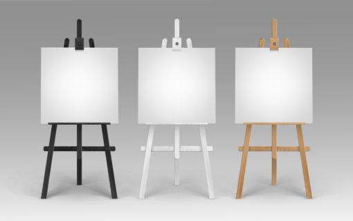 Square Artist Canvas